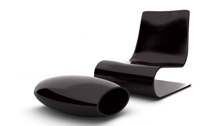 dk3d objet 3d chaise design design d 39 objet mobilier. Black Bedroom Furniture Sets. Home Design Ideas